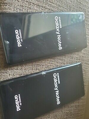 AS IS Lot of 2 Samsung Galaxy Note 8 AT&T Sprint T-Mobile Metro Verizon Unlocked