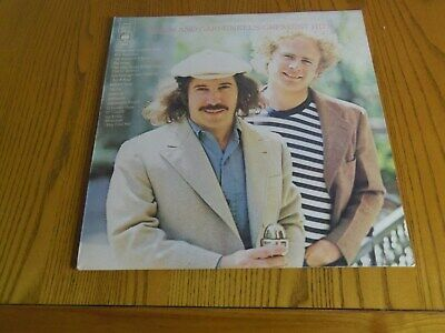 "Simon & Garfunkels Greatest Hits 12""LP CBS 1972"