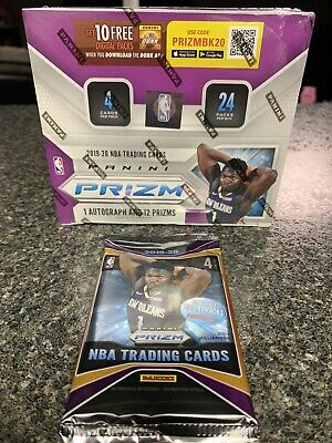 ⭐️👀2019-2020 Panini Prizm NBA Retail Pack from Sealed Box Zion Ja Rookie SP?!⭐️