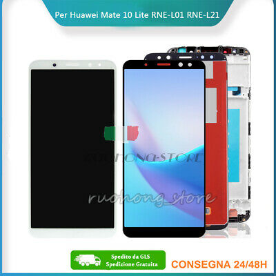 Lcd Display Per Huawei Mate 10 Lite Rne-L21 Frame Touch Screen Rne-L01 It