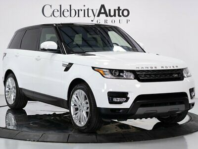"""2017 Range Rover Sport Climate & Comfort & Visibility Pkg 21"""" Wheels 2017 LAND ROVER RANGE ROVER SPORT CLIMATE AND COMFORT AND VISIBILITY PKG 21"""" WHE"""