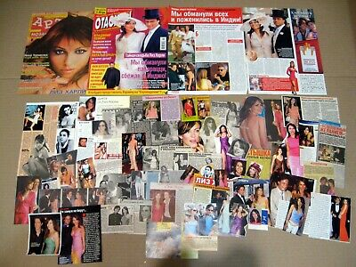 Elizabeth Hurley cuttings articles clippings