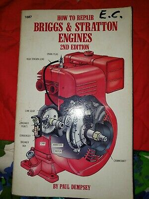How To Repair Briggs & Stratton Engines Sift Cover Book 2nd Edition 1984