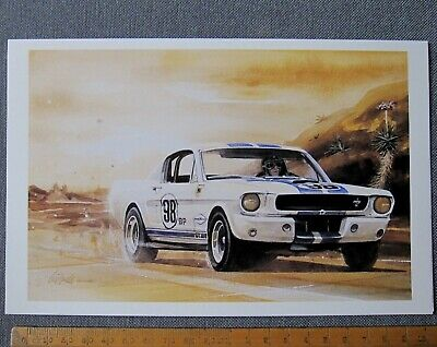 carte Shelby FORD MUSTANG GT350 5R002 KEN MILES card by BILL NEALE