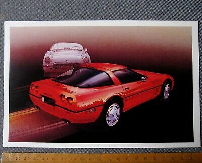carte Chevrolet CORVETTE 1953 and ZR-1 card by Dennis Brown