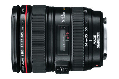 [Top Mint]Canon EF 24-105mm f/4 L IS Macro USM for EOS EF From Japan, extras