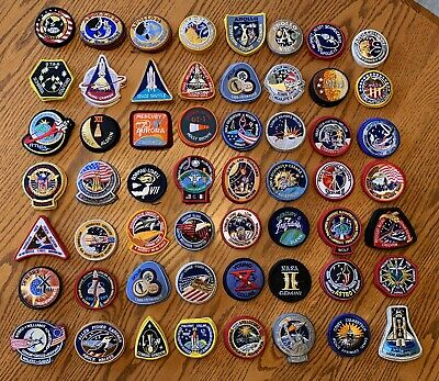 88 Assorted NASA Cloth Space Patches