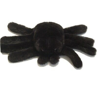 JERRY ELSNER HAND PUPPET Black Spider STUFFED ANIMAL PLUSH TOY