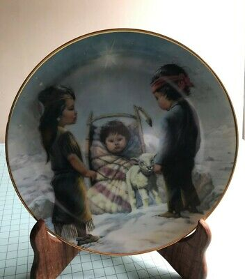 Perillo Collector's Plate The Shining Star - Christmas Series