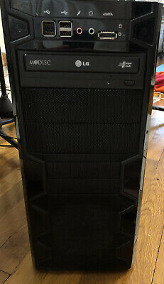 Custom Gaming PC Intel i5-3350P Quad Core 3.10GHz 8 GB Memory Nvidia GTX 550 Ti