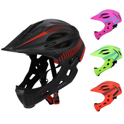 Kids Children Safety Helmet for Bike Scooter Bicycle Skate Board Cycle Full Face
