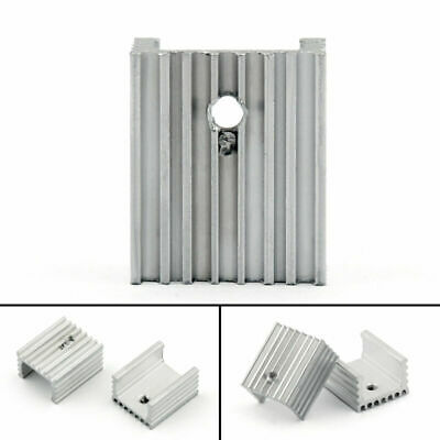 DIYElectronic 5 pcs 20206mm Heatsink Cooling Fin Cooler Aluminum Radiator Heat Sink for Chip LED Power IC Transistor Module PBC 20X20X6mm