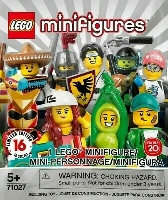 Open Bag from £3.50 each! Lego Minifigures New Series 20 Free Postage