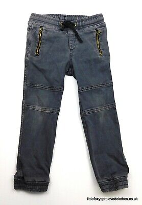3-4 years boys H&M grey jeans sporty style trousers