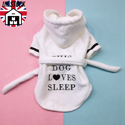 This Dog Loves Sleep Dressing Gown