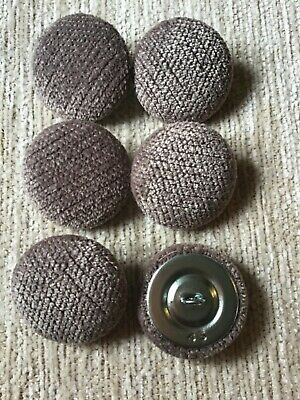 12X NO24 BLACK VINYL COVERED UPHOLSTERY BUTTONS.WIRE LOOP BACK LENGTH OF TWINE