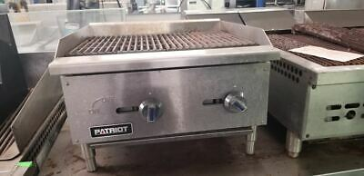 Patriot 24'' Radiant Gas Countertop Charbroiler FMECTC-24/NG