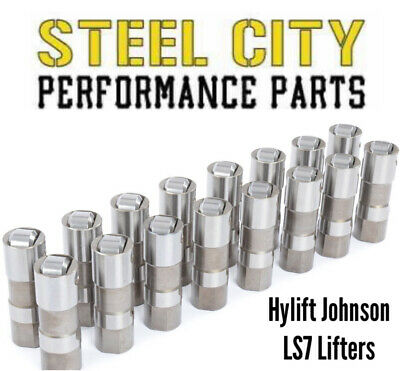 1987-1997 Chevy 350 5.7 Hylift-Johnson GM Roller Lifters Pushrods ...