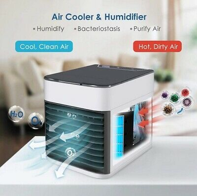 2020 USB Rechargeable Water-cooled Air Conditioner Can be used outdoors