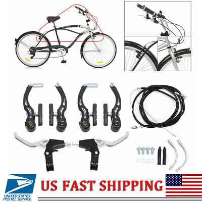 Mountain Bike Bicycle Front Fork Light Aluminum Alloy Bicycle Headlight Ta O3X2