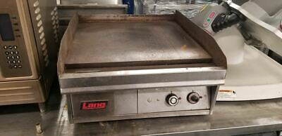 Lang 24'' Electric Countertop Griddle 124T