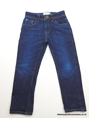 5 years boys Matalan slim fit blue denim trousers jeans quality