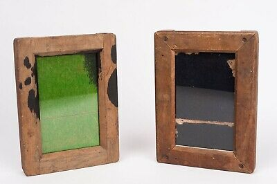 Vintage Wooden Contact Printing Frame for  9x14cm aprox