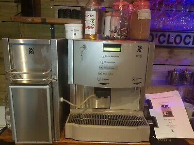 WMF PRESTO BEAN to Cup Coffee Machine + Cups warmer + Milk
