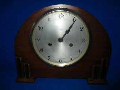 Antique / Vintage Enfield  English  Mantle Clock  Untested