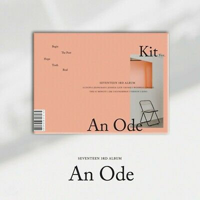 Seventeen 3Rd Full Album 'An Ode' Unsealed Kihno + Group Photocard