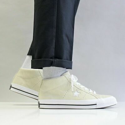 CONVERSE ONE STAR Mid Counter Climate Black Nubuck Mens