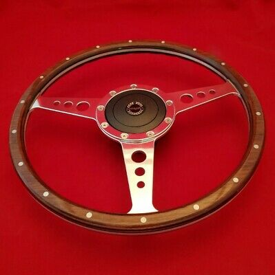"Fits TR7 1977 On 14/"" Classic Leather Steering Wheel /& Hub"