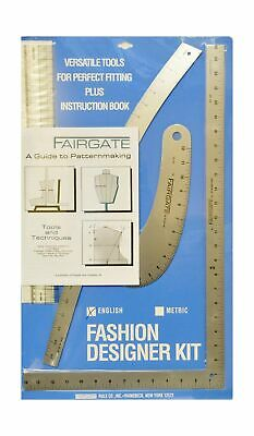 Fairgate Fashion Designer S Ruler Kit 15 102 Inches 42 50 Picclick