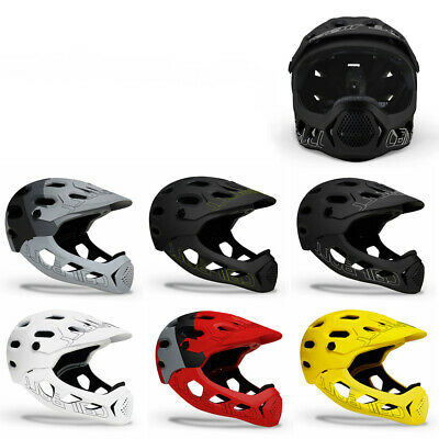 Adult Cycling Helmet Full Face MTB Mountain Road Downhill Bicycle Helmets