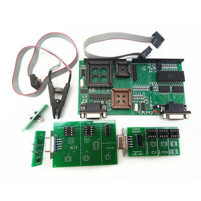 UPA USB V1.3 Tms and NEC Adapter Car Praogrammer Tool Eeprom Board +8 Soic Clip