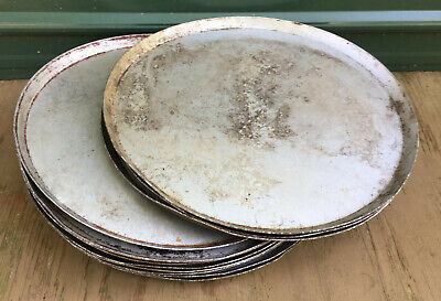 "Aluminum Pizza Pan 17"" x 1"" tray plate pie 16"