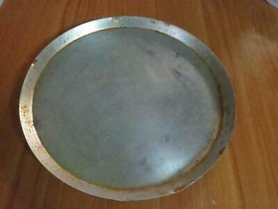 "Aluminum Pizza Pan 14"" x 1"" tray plate pie"