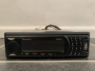 Silvercrest Crb 631 Car Stereo Radio Cd Mp3 Player Usb Aux In 17 99 Picclick Uk