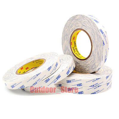 (5mm-50mm) 3M White 9448A Heat Resistant Super Sticky Double Sided thin Tape