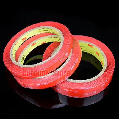 (5mm~50mm)New 3M 4910VHB Super Sticky Double Sided Transparent Adhesive Tape