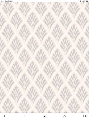 Pale Sunshine Wallpaper FREE DELIVERY * Laura Ashley Apple Blossom Off White