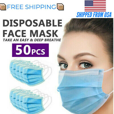 50 Pc Face/Mouth Mask (Premium Quality)