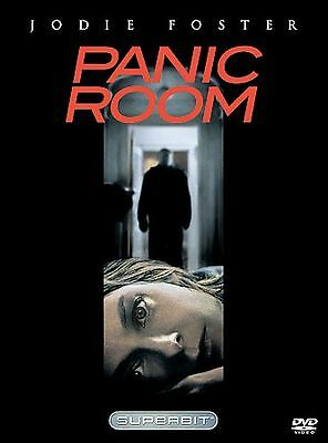 PANIC ROOM (NEW/SEALED DVD) Jodie Foster, Forest Whitaker. FAST FREE SHIPPING.