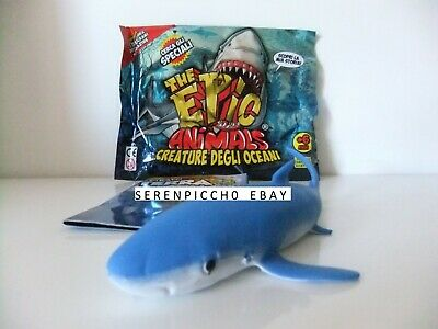The Epic Animals CREATURE DEGLI OCEANI Bustina SQUALO AZZURRO maxi Animali