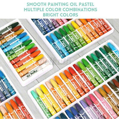 12/18/24/36 Coloring Arts Oil Pastels Non-Toxic Crayon Graffiti Drawing