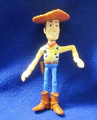 "WOODY TOY STORY 6"" Figurine Figure DISNEY PIXAR for McDONALD/'S Andy on Sole 2005"