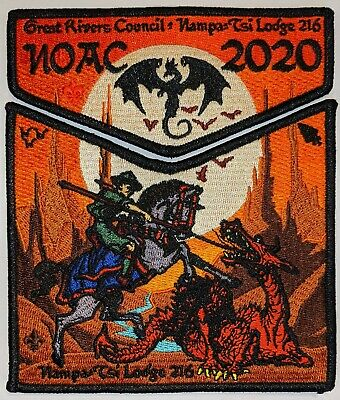 New 2020 OA NOAC Flap Patch Wahpekute Lodge 175 made Central Region Scouts