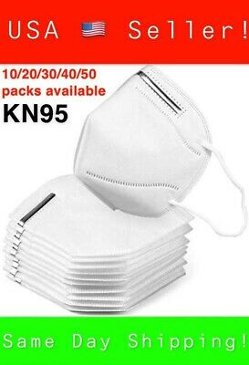 USA Seller KN95 Protective 5 Layers Face Mask [10 PACK] Disposable Respirator