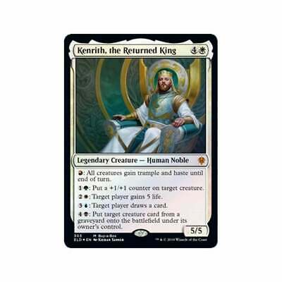 RUSSIAN FOIL Kenrith the Returned King NM buyabox promo MTG Throne of Eldraine