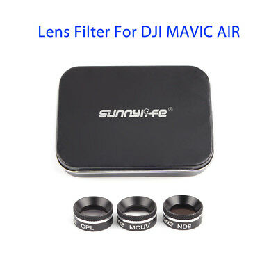 For DJI MAVIC AIR Multi-functional Lens Filter MCUV CPL ND4//8//16 ND32 Accessory